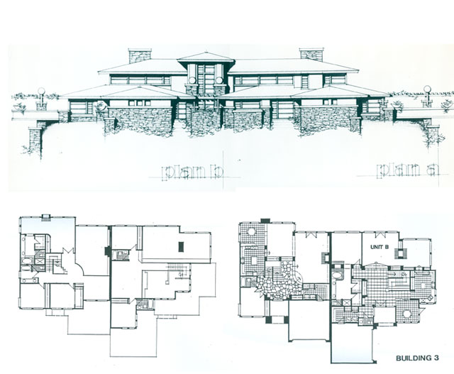 Falling water house plans and elevations escortsea for Guest house plan and elevation