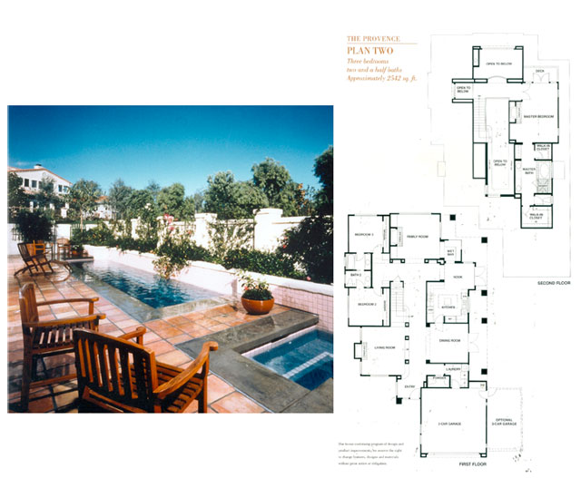 Plan Two & Private Patio