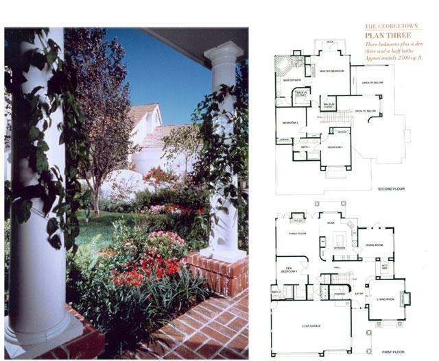 Plan Three & Entry Colonnade
